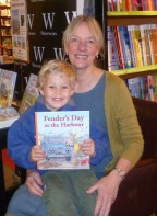 Wilf and Veronica at Waterstones May 2015