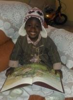 Amy in Kenya