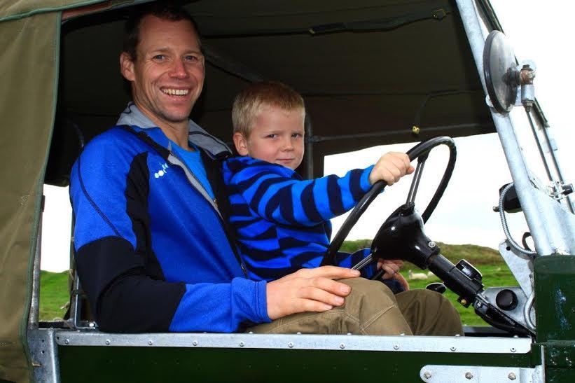 Andrew and Ben in Cumbria