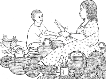 Jojo - Market Colouring In Picture