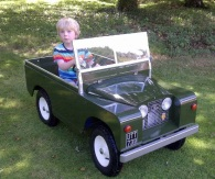 Joshi Driving LANDY