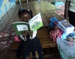 Sandra in Kenya