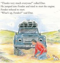 Dan and the seal