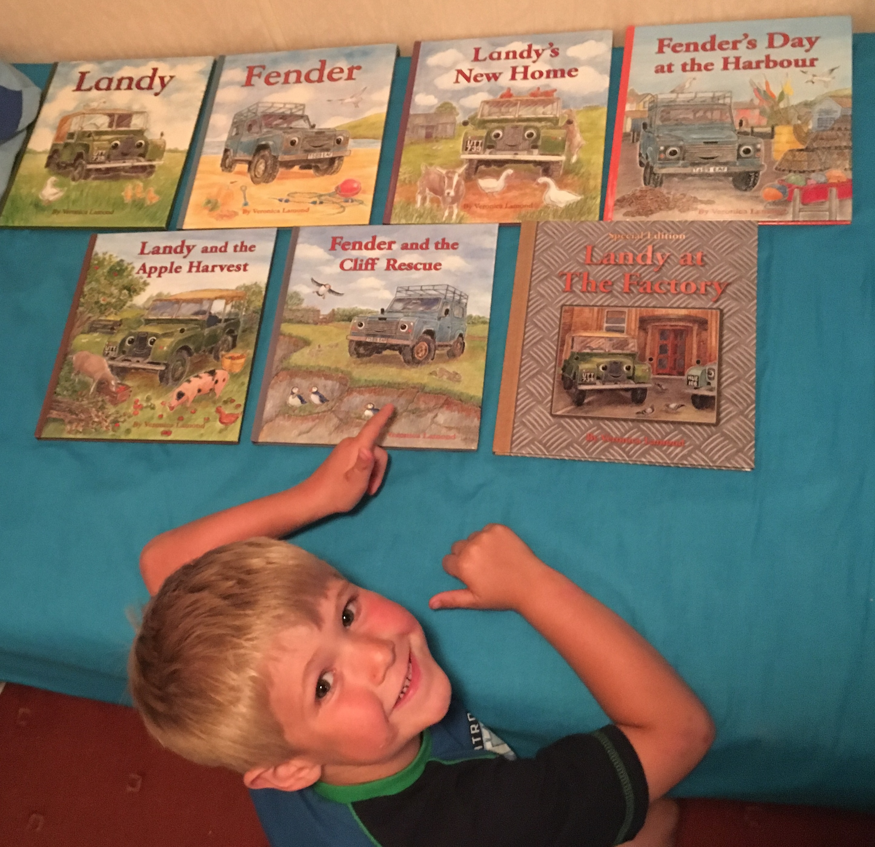 James and his books