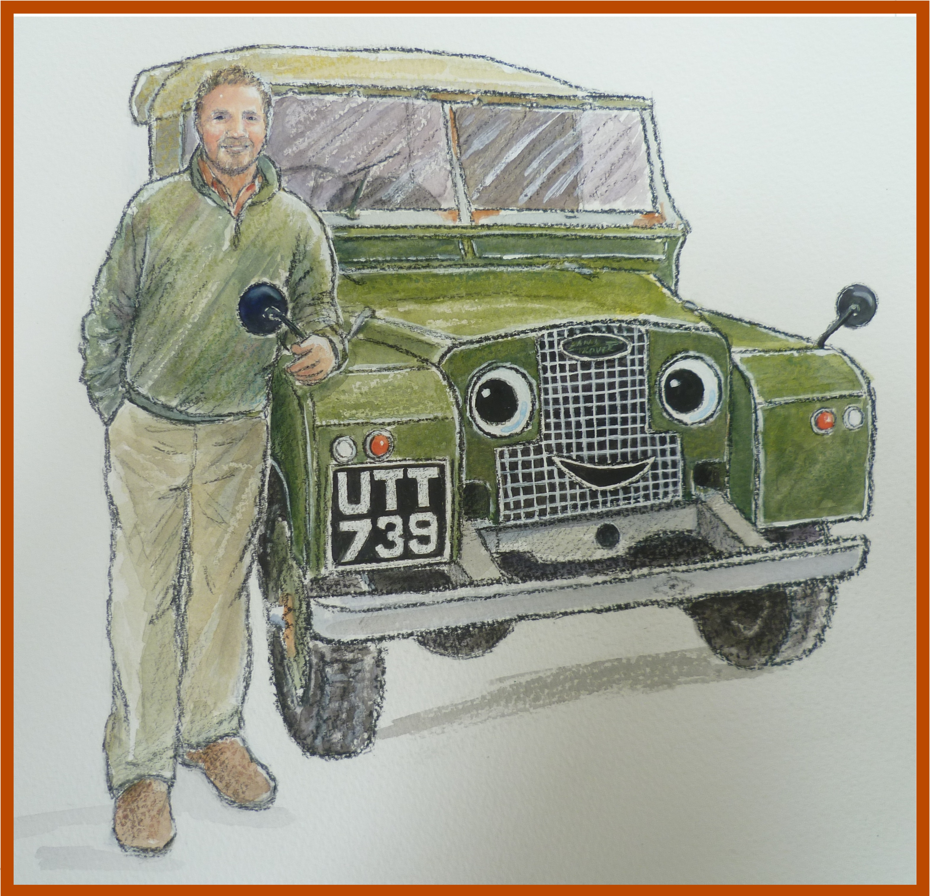 mick and landy painting
