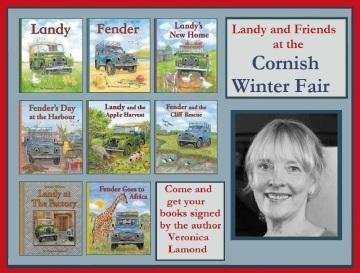 Cornish Winter Fair advert grey