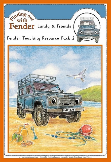 Smaller version Cover LANDY AND FRIENDS FENDER TEACHING RESOURCE PACK 2